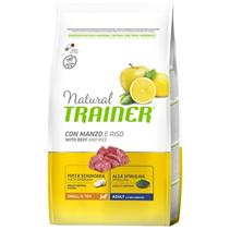 Trainer Natural Small & Toy Adult Beef & Rice / Сухой корм Трейнер для собак Мелких и Миниатюрных пород Говядина и Рис