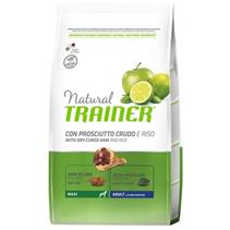 Trainer Natural Maxi Adult Dry-Cured Ham & Rice / Сухой корм Трейнер для взрослых собак Крупных пород Сыровяленая ветчина и Рис