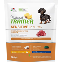 Заказать Trainer Sensitive No Gluten Mini Adult / Сухой Безглютеновый корм для взрослых собак Мелких пород Ягненок по цене 840 руб