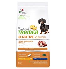 Заказать Trainer Natural Sensitive No Gluten Small & Toy Adult / Сухой корм для собак Мелких пород Утка по цене 5380 руб