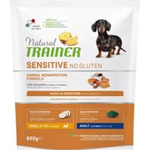 Заказать Trainer Sensitive No Gluten Mini Adult / Сухой Безглютеновый корм для взрослых собак Мелких пород Лосось по цене 840 руб