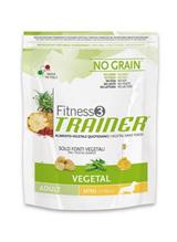 Заказать Сухой корм Trainer Fitness3 No Grain Mini Adult Vegetal беззерновой для взрослых собак мелких пород вегетарианский по цене 750 руб