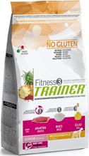 Заказать Сухой корм Trainer Fitness3 No Gluten Medium / Maxi Junior Duck and Rice без глютена для юниоров средних и крупных пород с уткой и рисом по цене 1730 руб