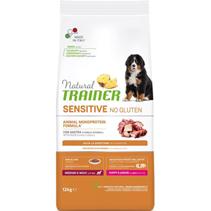Заказать Trainer SensitiveNo Gluten Medium / Maxi Puppy Junior Сухой Безглютеновый корм для Щенков и Юниоров Средних и Крупных пород Утка по цене 6960 руб