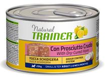 Trainer Natural Small & Toy Adult / Консервы Трейнер для взсролых собак Мелких и Миниатюрных пород Сыровяленая ветчина и Рис (цена за упаковку)