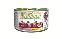 Заказать Консервы Trainer Fitness3 No Gluten Mini Adult Lamb and Rice без глютена для взрослых собак мелких пород с ягненком и рисом Цена за упаковку по цене 4640 руб