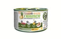 Trainer Fitness3 No Gluten Mini Adult / Трейнер Фитнес Без Глютена Консервы для Собак Мелких пород Утка и Рис (цена за упаковку)
