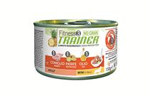 Заказать Консервы Trainer Fitness3 No Grain Mini Adult Rabbit and Potatoes беззерновые для взрослых собак мелких пород с кроликом и картофелем Цена за упаковку по цене 4640 руб