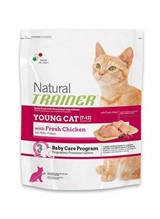 Заказать Сухой корм Trainer Natural Young Cat для молодых кошек от 7 до 12 месяцев по цене 280 руб