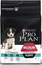 Purina Pro Plan Medium Puppy Sensitive Digestion / Сухой корм Пурина Про План для Щенков с чувствительным пищеварением Ягненок и рис