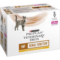 Purina Pro Plan Veterinary Diets NF Renal Function Chicken / Лечебные паучи Пурина Про План Ветеринарная Диета для кошек Ренал Заболевание почек Курица (цена за упаковку)