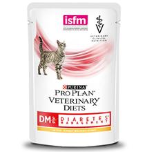 Purina Pro Plan Veterinary Diets DM Diabetes Management / Лечебные паучи Пурина Про План Ветеринарная Диета для кошек Сахарный диабет