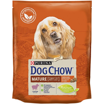 Purina Dog Chow Mature Adult 5+ Lamb / Сухой корм Пурина Дог Чау для собак Старшего возраста Ягненок