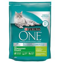 Purina One / Сухой корм Пурина Уан для Домашних кошек Индейка и цельные злаки