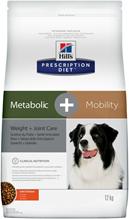 Заказать Hills Prescription Diet Metabolic & Mobility Chicken / Лечебный корм для собак Коррекция веса и Заболевание суставов Курица по цене 6440 руб