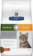 Заказать Hills Prescription Diet Metabolic & Urinary Chicken / Лечебный корм для кошек Коррекция веса и Мочекаменная болезнь по цене 1360 руб