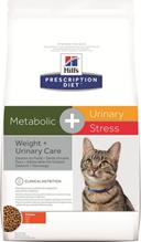 Заказать Hills Prescription Diet Metabolic & Urinary Stress Chicken / Лечебный корм для кошек Коррекция веса и Мочекаменная болезнь по цене 1430 руб