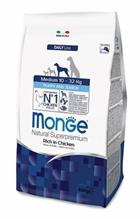 Monge Dog Puppy Medium / Сухой корм Монж для Щенков Средних пород