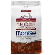 Monge Dog Speciality Puppy Mini Lamb & Rice / Сухой корм Монж Спешиалити для Щенков Мелких пород Ягненок с рисом