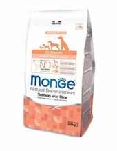 Monge Dog Speciality Puppy & Junior / Сухой корм Монж Спешиалити для Щенков всех пород Лосось с рисом