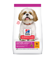 Hills Science Plan Small & Mini Mature 7+ Chicken / Сухой корм Хиллс для собак Мелких и Миниатюрных пород старше 7 лет Курица