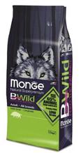 Заказать Monge Bwild Dog Boar / корм для взрослых собак всех пород с мясом дикого кабана по цене 3979 руб
