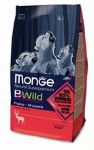 Заказать Monge Bwild Dog Deer / корм для щенков всех пород с олениной по цене 1120 руб