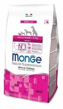 Monge Dog Adult Extra Small Chicken / Сухой корм Монж для взрослых собак Миниатюрных пород с Курицей