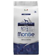 Monge Dog Senior Medium / Сухой корм Монж для Пожилых собак Средних пород