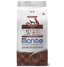 Monge Dog Speciality Adult Lamb & Rice / Сухой корм Монж Спешиалити для взрослых собак всех пород Ягненок с рисом и картофелем