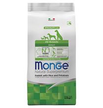 Monge Dog Speciality Adult Rabbit & Rice / Сухой корм Монж Спешиалити для взрослых собак всех пород Кролик с рисом и картофелем