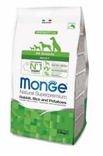 Заказать Monge Dog Speciality / корм для собак всех пород кролик с рисом и картофелем по цене 5499 руб