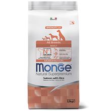 Monge Dog Speciality Adult Salmon & Rice / Сухой корм Монж Спешиалити для взрослых собак всех пород Лосось с рисом