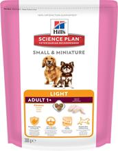 Заказать Hills Small & Miniature Light / Сухой корм для взрослых собак миниатюрных размеров Облегченный Курица и Индейка по цене 180 руб
