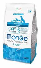 Monge Dog Speciality Light Salmon & Rice / Сухой корм Монж Спешиалити для собак всех пород Низкокалорийный Лосось с рисом