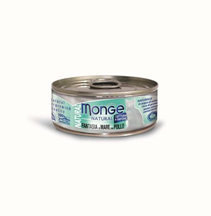 Monge Cat Natural / Консервы Монж Натурал для кошек Морепродукты с курицей (цена за упаковку)