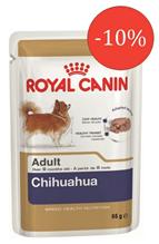 Заказать Royal Canin Chihuahua Паучи / Влажный корм (паштет) Роял Канин для собак породы Чихуахуа по цене 290 руб