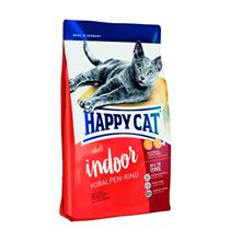 Happy Cat Supreme Indoor Voralpen-Rind / Сухой корм Хэппи Кэт для Домашних кошек Альпийская Говядина