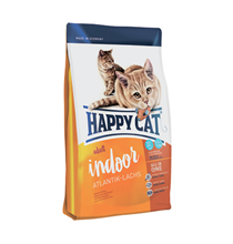 Happy Cat Supreme Indoor Atlantik-Lachs / Сухой корм Хэппи Кэт для Домашних кошек Атлантический Лосось