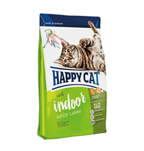 Happy Cat Supreme Indoor Weide-Lamm / Сухой корм Хэппи Кэт для Домашних кошек Ягненок