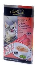 Edel Cat / Лакомство для кошек Крем-Суп Лосось