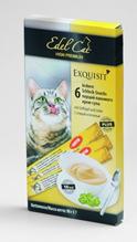 Edel Cat / Лакомство для кошек Крем-Суп Птица и Печень