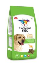 Счастливый Пес Сухой корм  для взрослых собак с Чувствительным пищеварением с Ягненком и рисом