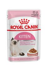 Заказать Royal Canin Kitten Instinctive / Влажный корм (Консервы-Паучи) Роял Канин Киттен Инстинктив для Котят в возрасте от 4 до 12 месяцев в Соусе (цена за упаковку) по цене 160 руб
