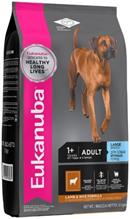Eukanuba Adult Large Breed Lamb & Rice / Сухой корм Эукануба для взрослых собак Крупных пород с Ягненком и рисом