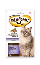 Мнямс Лакомство для кошек Хрустящие подушечки Выведение Шерсти (Говядина)