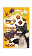 Мнямс Лакомство для кошек Мясной карнавал Микс (Утка, Индейка, Курица)