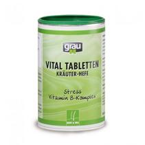 Заказать Grau Vital Tabletten Krauter-Hefe Stress Vitamin B-Komplex / Грау Витамины для собак и кошек по цене 1460 руб