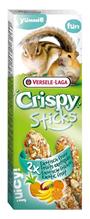Versele-Laga Crispy Sticks Exotic Fruit / Версель-Лага палочки для Хомяков и белок с экзотическими фруктами