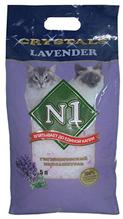 Наполнитель №1 Crystals Lavender Силикагелевый Лаванда